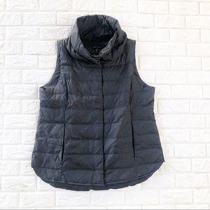 Eileen fisher | puffer vest | black | XL